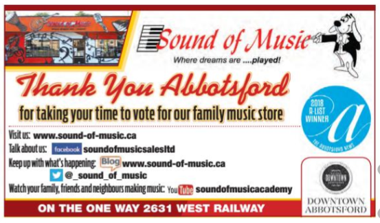 Sound of Music Sales – Where dreams are played since 1965